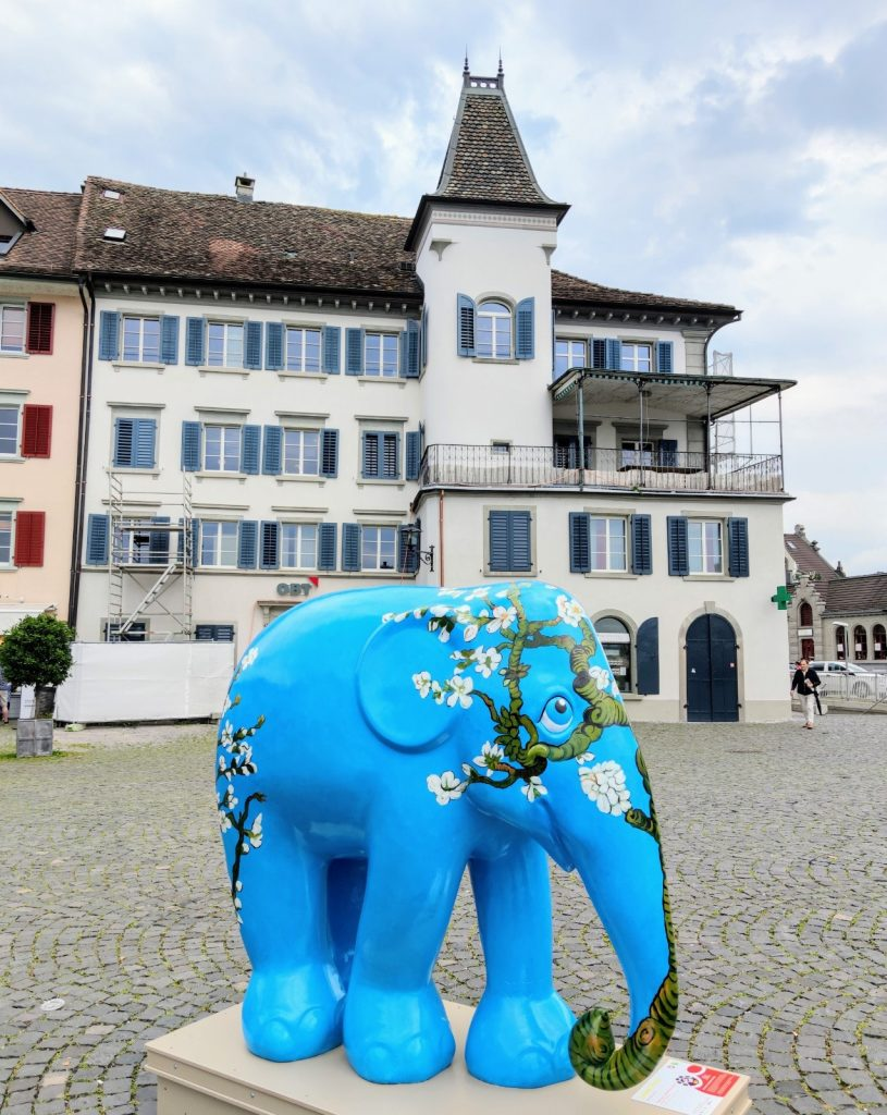 The Elephant Parade On Tour In Switzerland