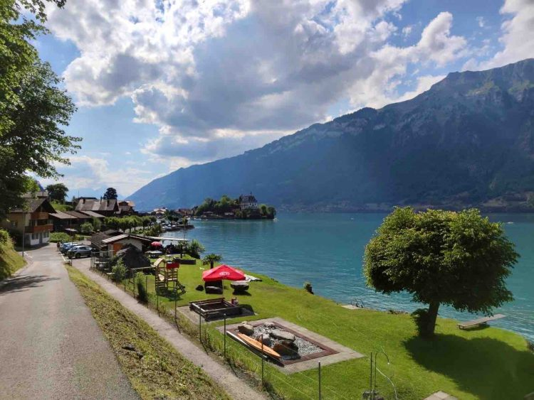The Promenade Iseltwald Brienz