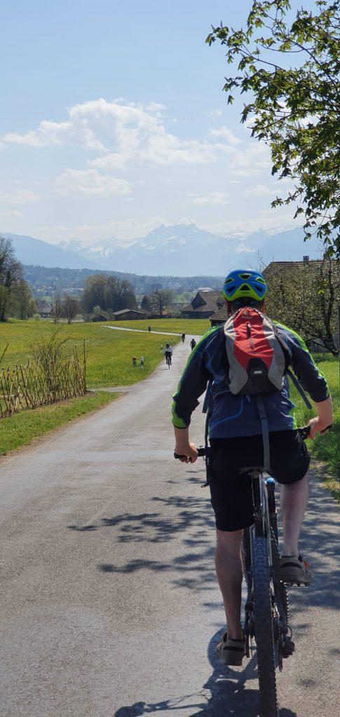 Ebiking near Ruti outside Zurich