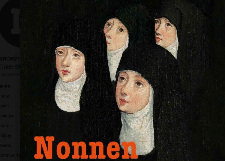 Exhibition on Nuns in Zurich (the Power Women of the Middle