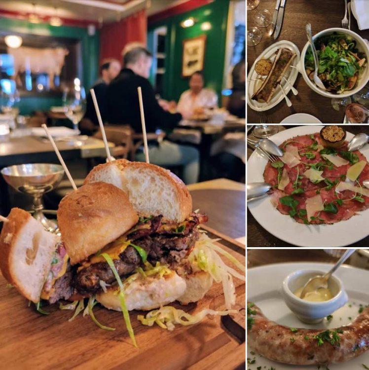 Lunch at Williams ButchersTable Bellevue Zurich