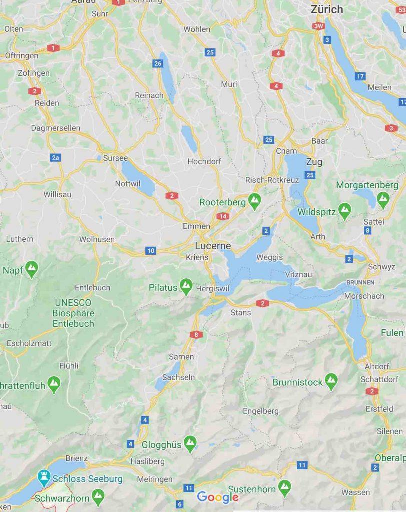 Iseltwald Google Maps