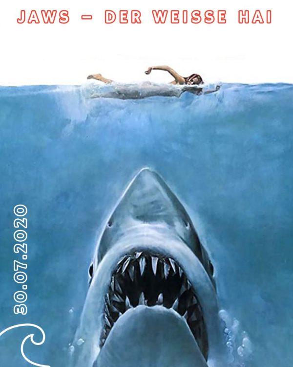Jaws at Open Air Cinema Dolder Welle