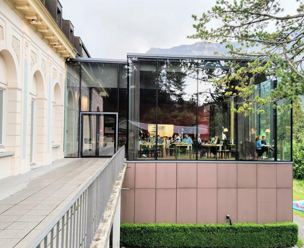 Restaurant Epoca at Waldhaus Flims Wellness Resort