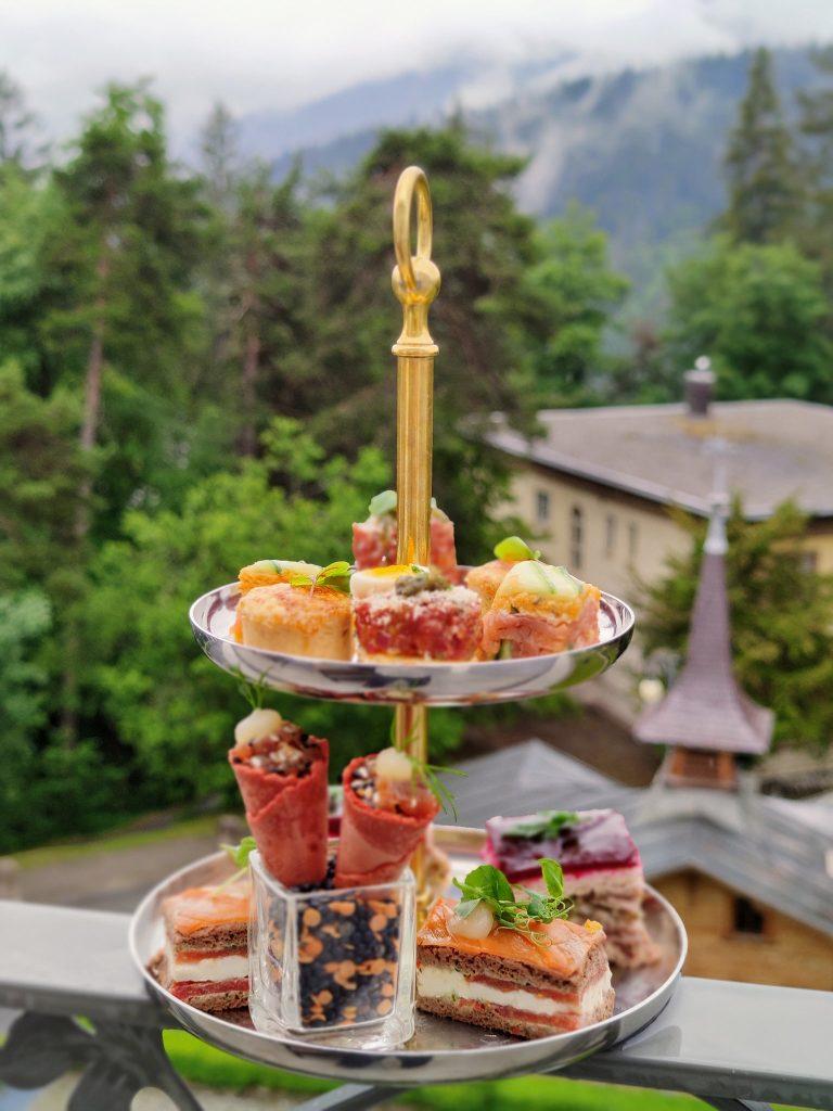 afternoon Tea at Waldhaus Flims Wellness Resort