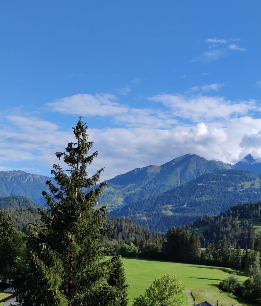 Flims mountain scenery