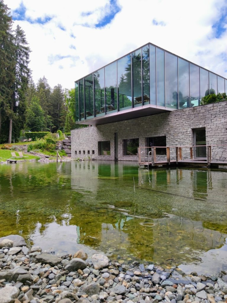 Spa and Wellness at Waldhaus Flims