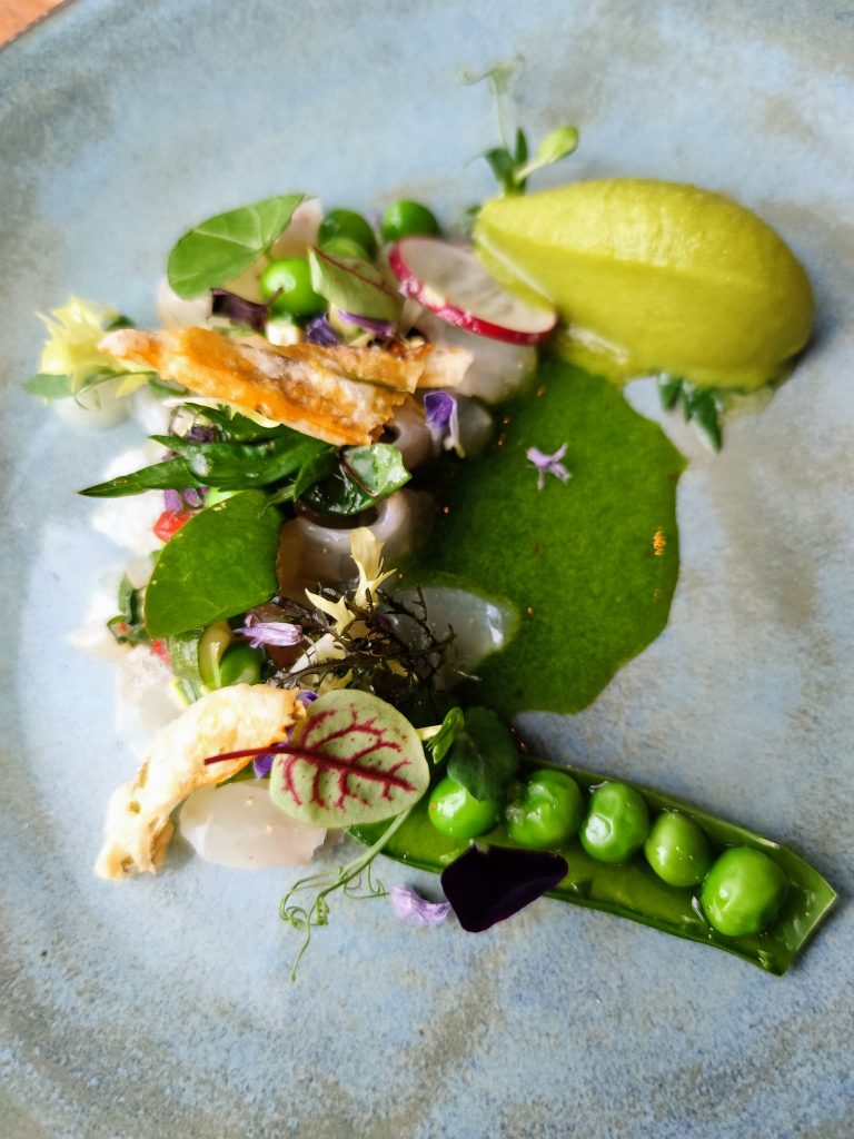 Dinner at Restaurant Epoca at Waldhaus Flims Wellness Resort