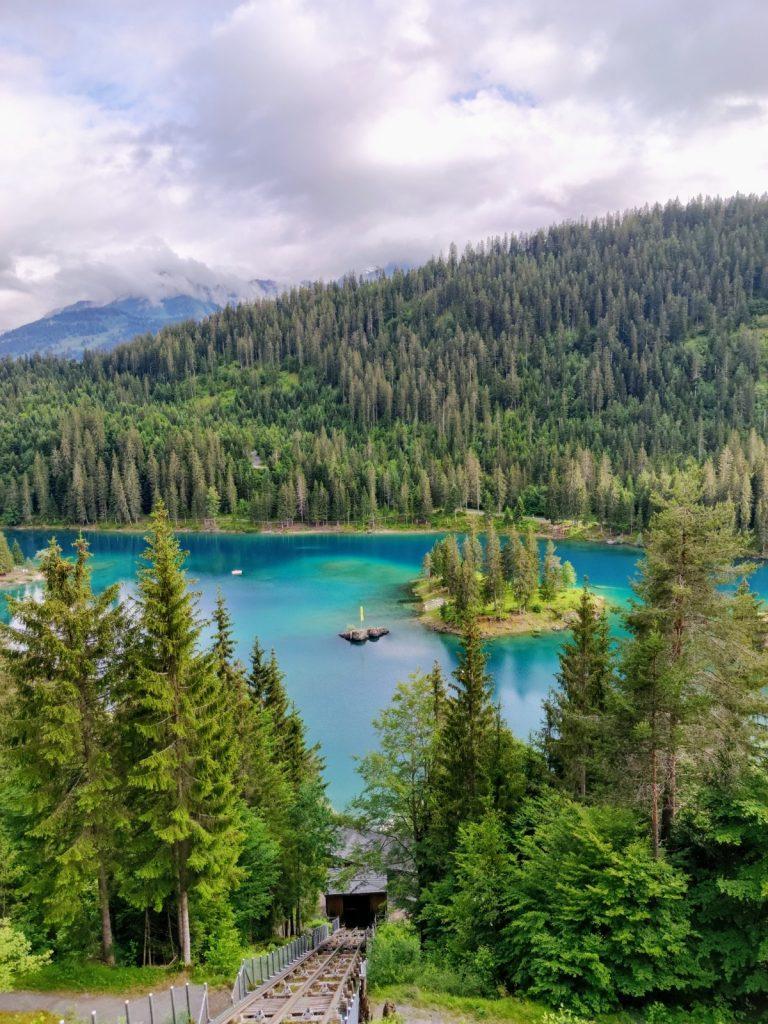Lake Caumasee Flims
