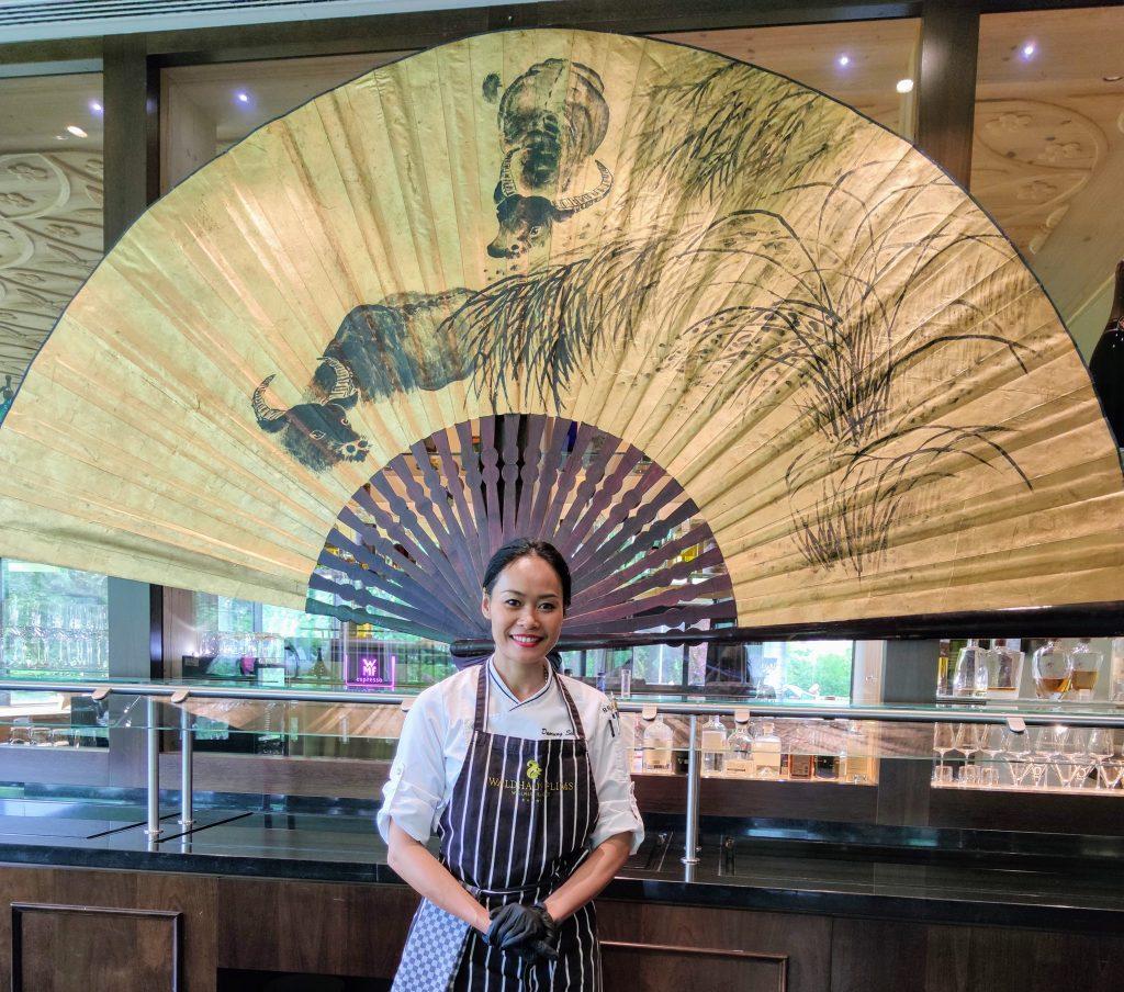 Daorung Seeneha at Restaurant Siam Waldhaus Flims Wellness Resort
