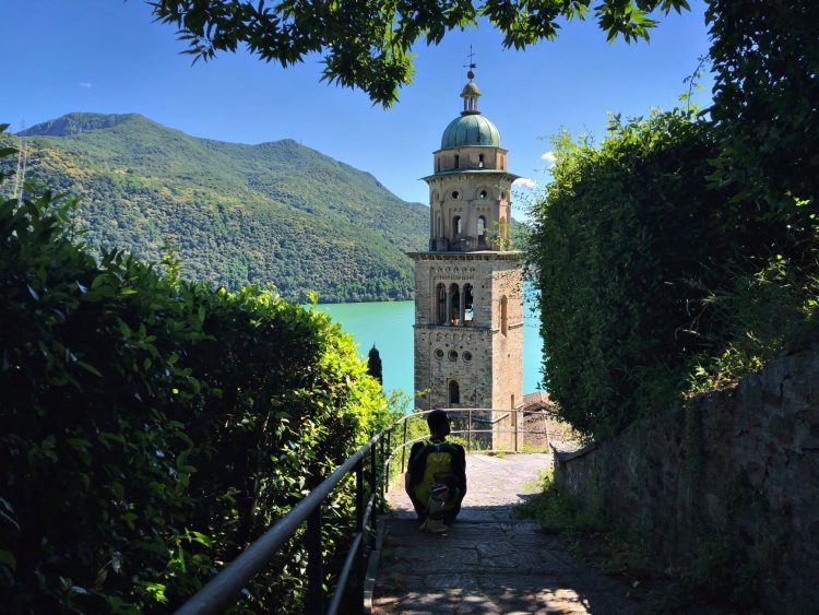 Hiking from Lugano to Morcote