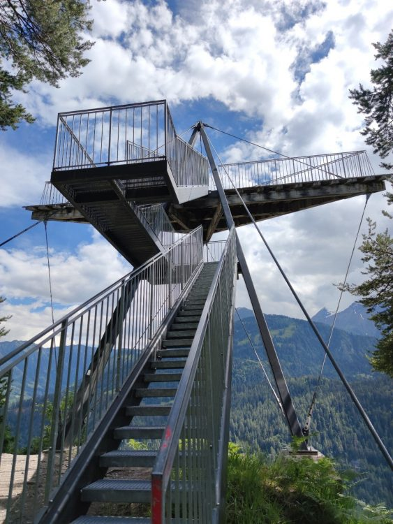 r Viewing Platform in Flims