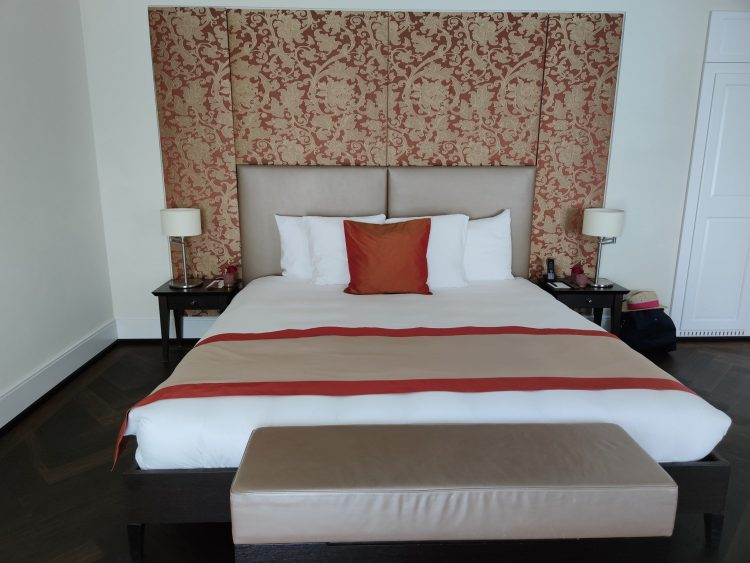 Junior Suite bedroom at the Dolder Grand Zurich