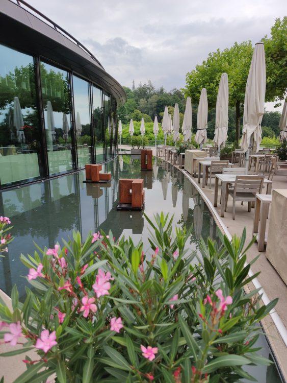 Restaurant Saltz Panorama terrace at Dolder Grand Zurich