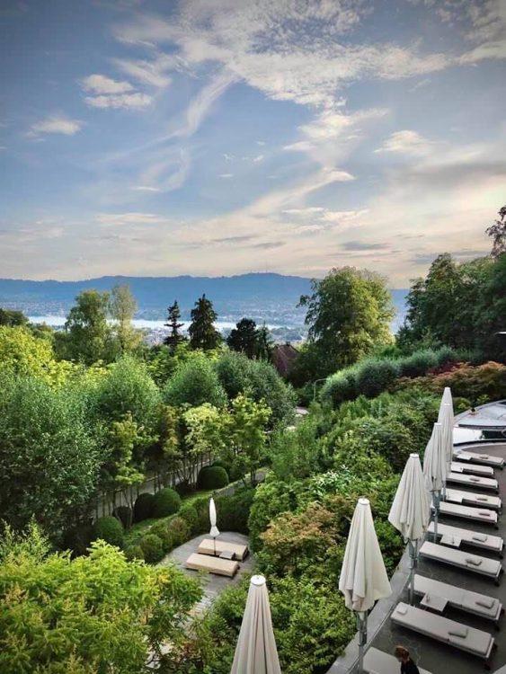Views from the Dolder Grand Zurich