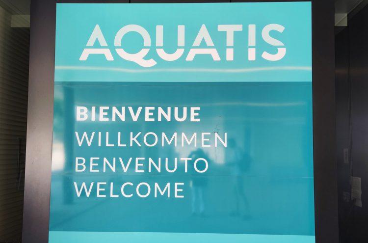AQUATIS in Lausanne - Europe's largest Aquarium-Vivarium