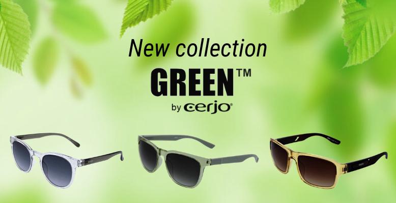 Go Green or Go Retro with Cerjo Sunglasses