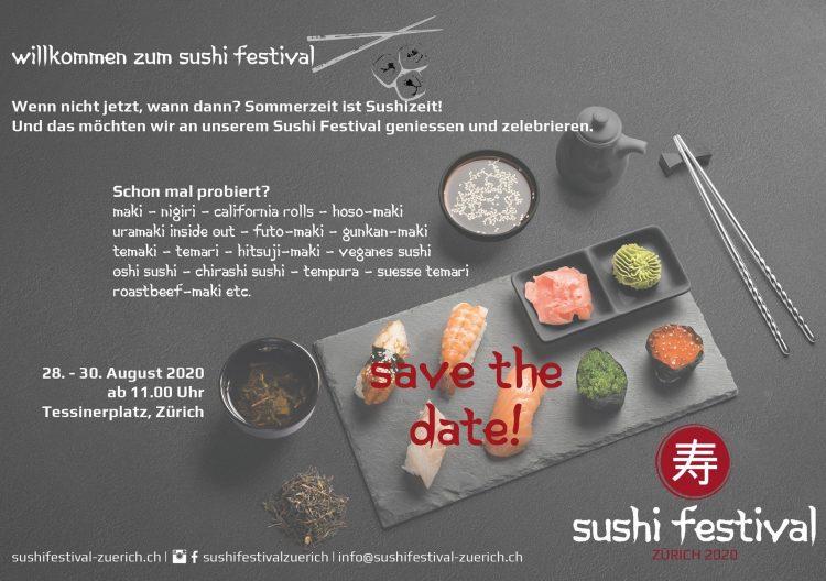 Sushi Festival Zurich 2020