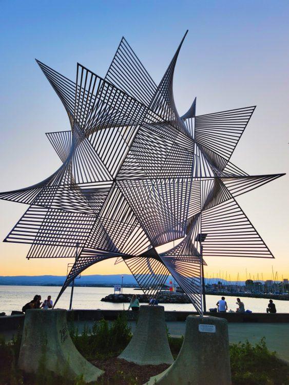 Sculpture in Lausanne