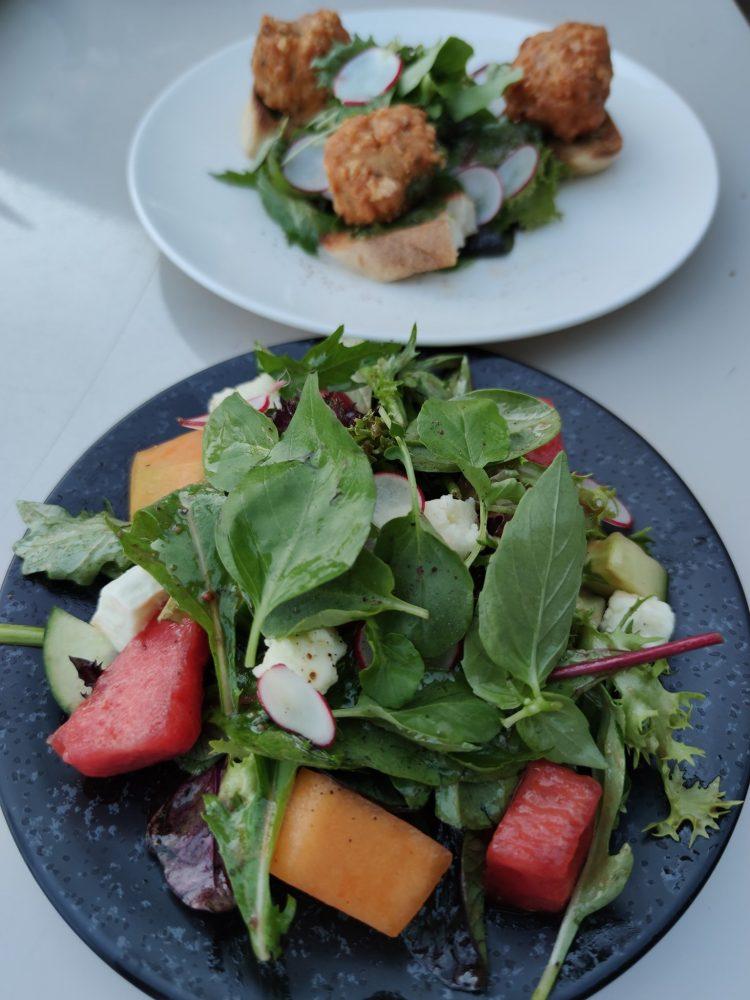 Food at Brasserie de Montbenon