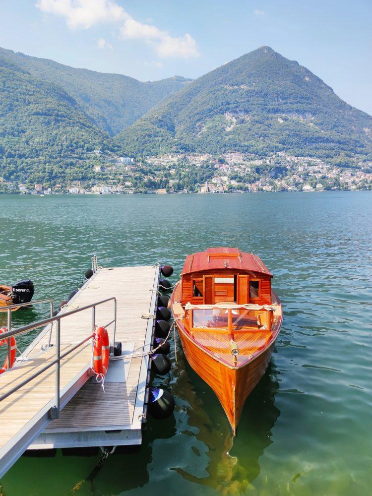 Il Sereno's Riva Boats