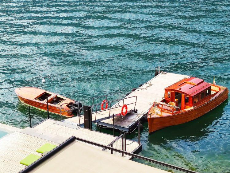 Il Sereno's Boats