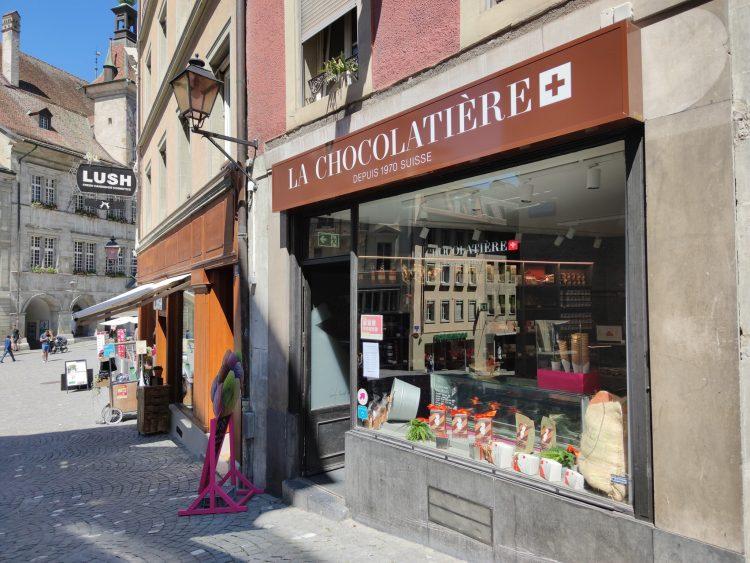Chocolate Shops Lausanne
