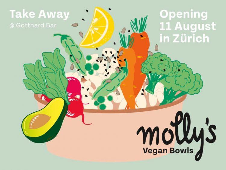 Molly's Vegan Bowls Zurich