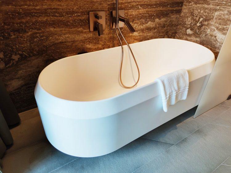 Free standing bath at hotel Il Sereno Como