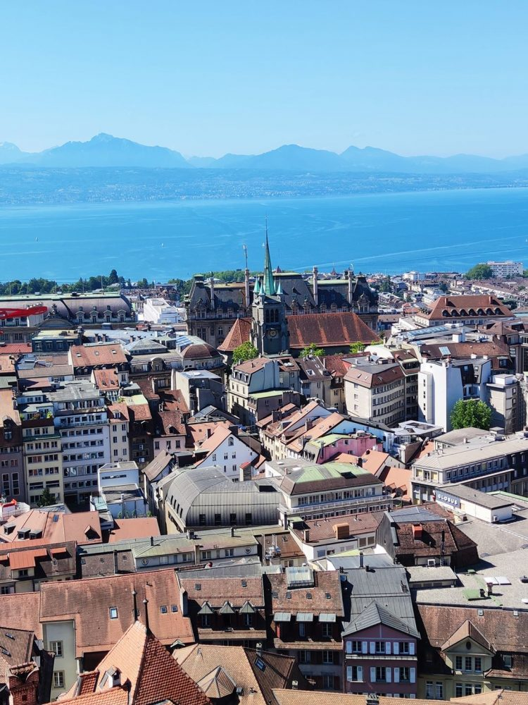 View from Lausanne Cathedral