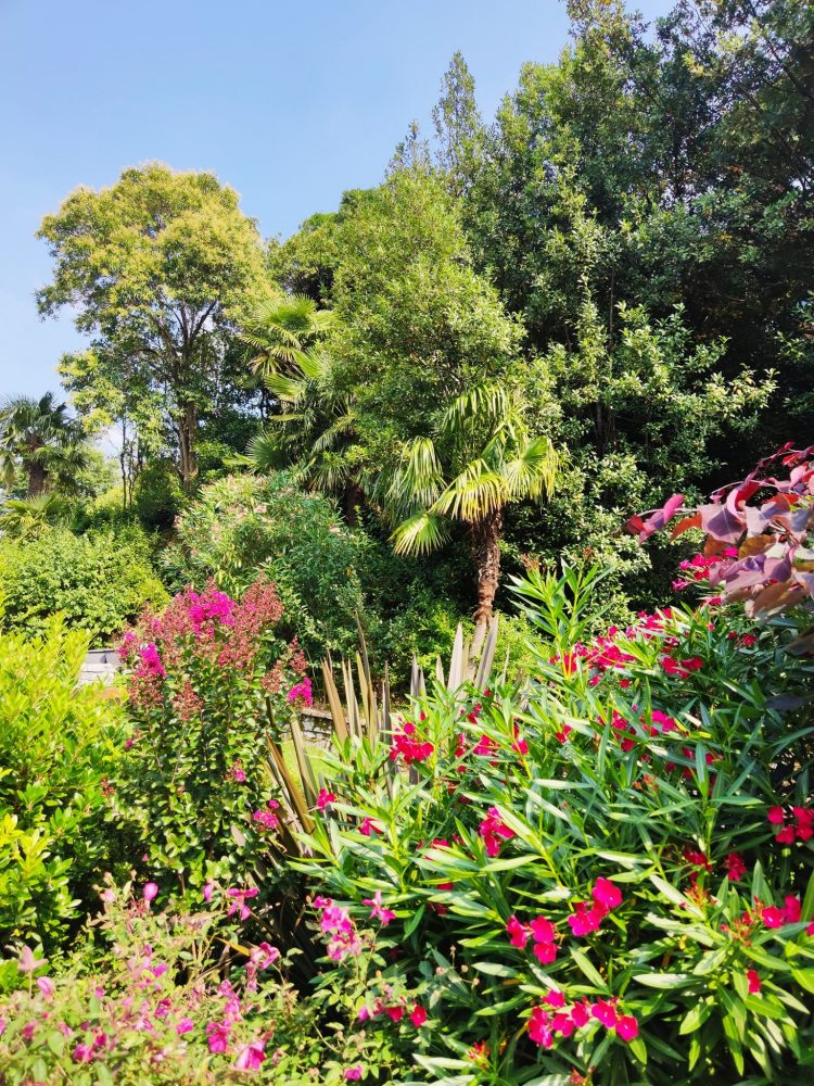 Gardens at Hotel Il Sereno Como