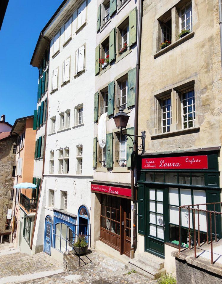 The Escaliers Du Marché Lausanne