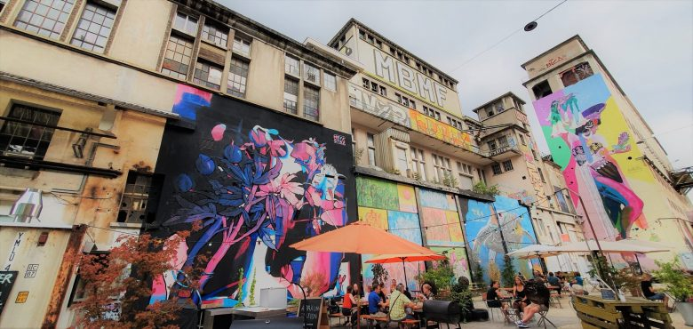 Projektil Illuminated Art in Solothurn with Hodler and Klee
