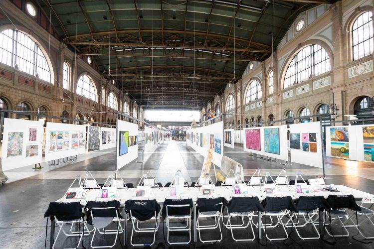 SWISSARTEXPO - FREE Art Festival at Zurich HB