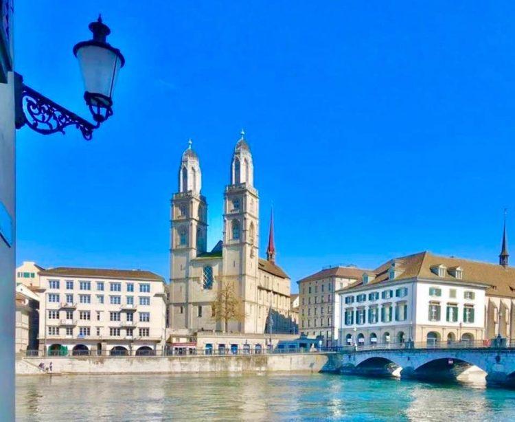 Zurich in August