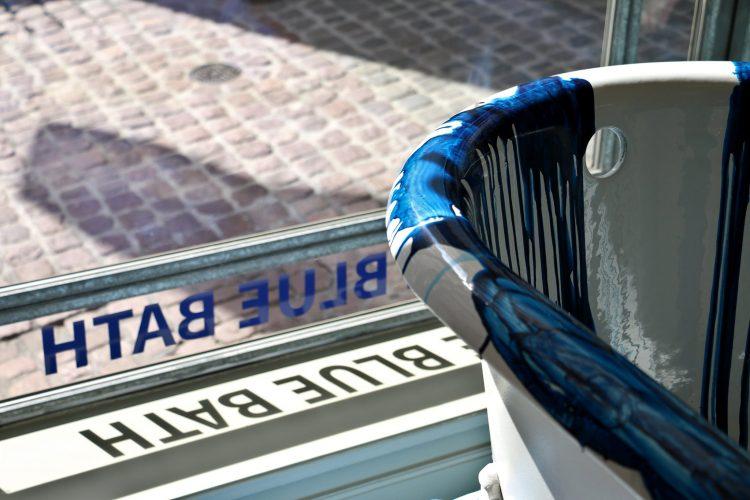 Conor Mccreedy Blue Bath Tub Zurich