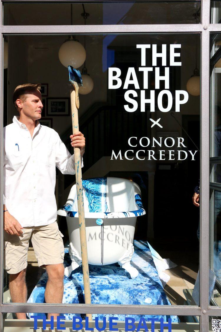 The Blue Bath Zurich by Connor McCreedy