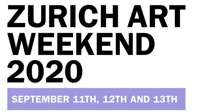 Zurich Art Weekend 2020
