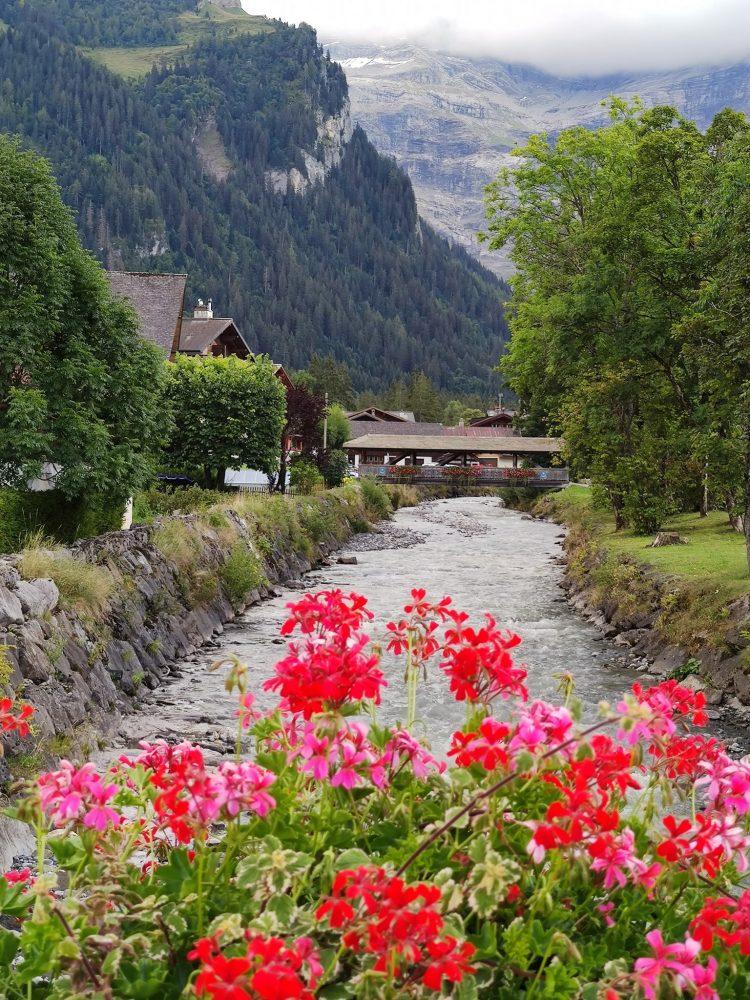 River in Les Diablerets Vaud