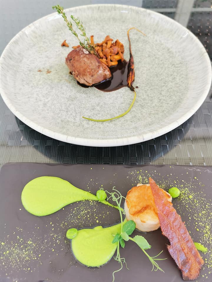 fillet of beef and scallop at Ristorante Pomodoro Flims