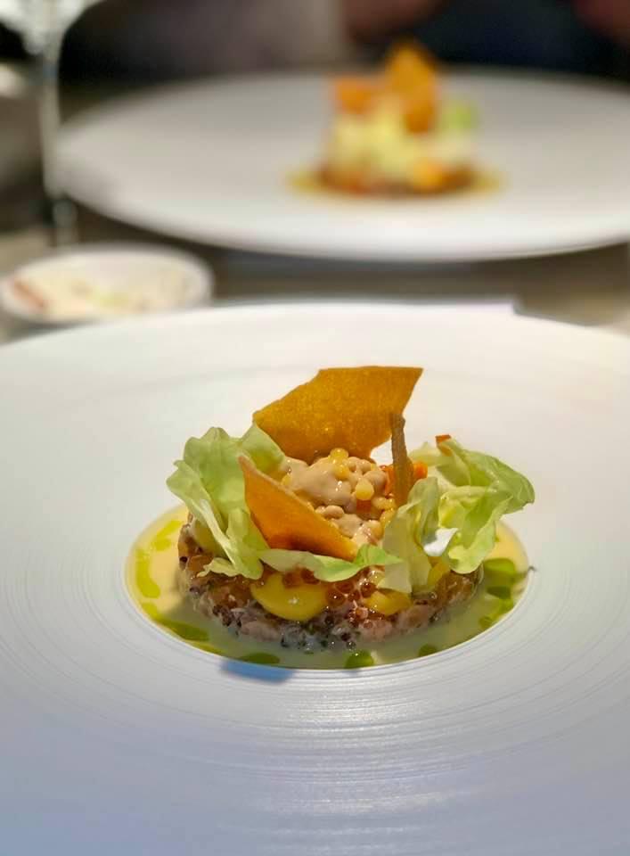 Nespresso Gourmet Weeks 2020 Widder Restaurant - Lachs Ceviche