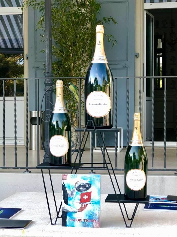 Laurent Perrier Champagne Grand Hotel du Lac Vevey San Pellegrino Sapori Ticino