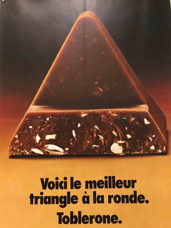 Toblerone -The Suchard Chocolate Poster Exhibition in Neuchâtel