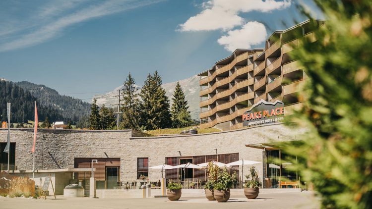 Enjoy this Autumn in Peaks Palace Laax