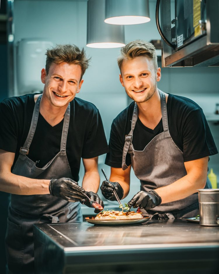 Chefs at Peaks Place Laax