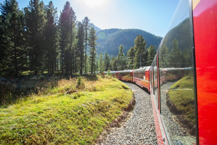 The Bernina Express - The Most Scenic Train Journey Ever?