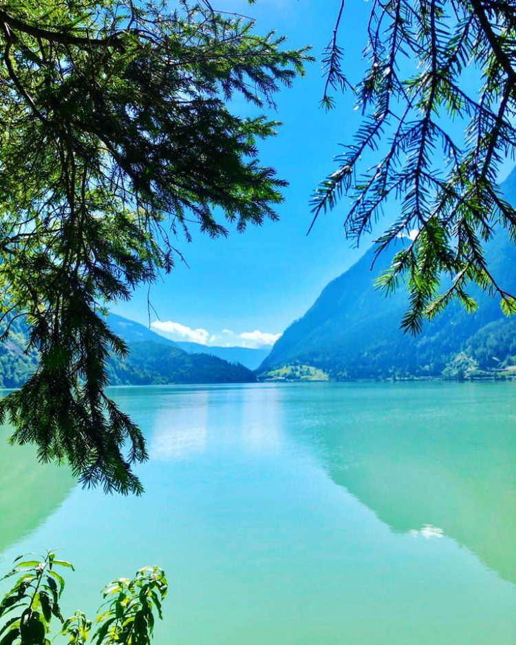 Lago di Poschiavo in Le Prese