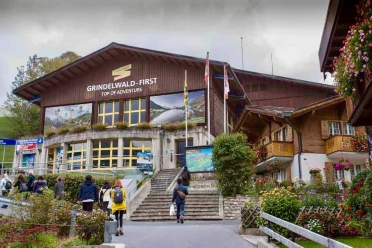 Grindelwald First Cable Car station