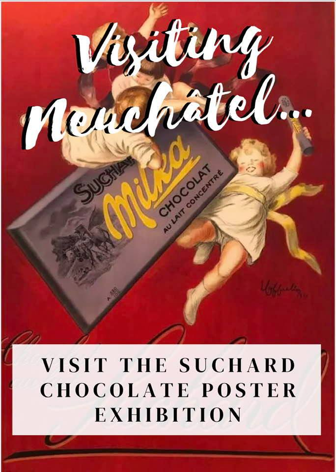 The Suchard Chocolate Poster Exhibition in Neuchâtel