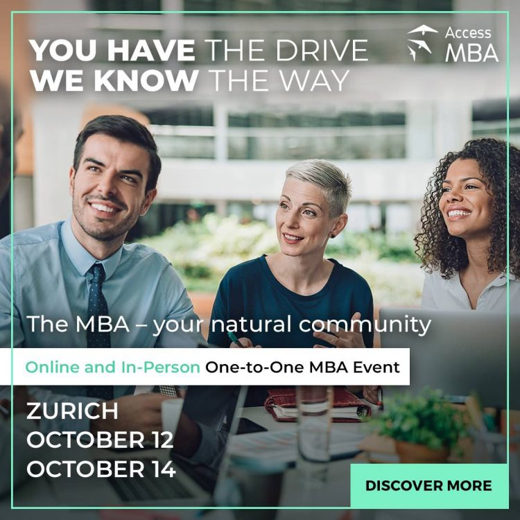 TOP MBA Event Zurich - Online and In Person